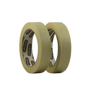 Two rolls of white masking tape