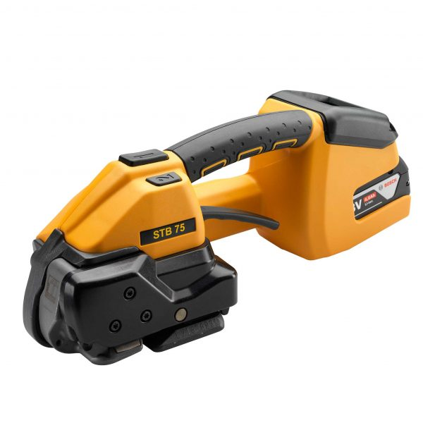 STB75 Black and yellow Strapping tool