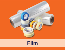 Rolls of musking tape and taping film