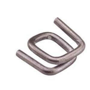 galvanised non slip knurled wire buckle